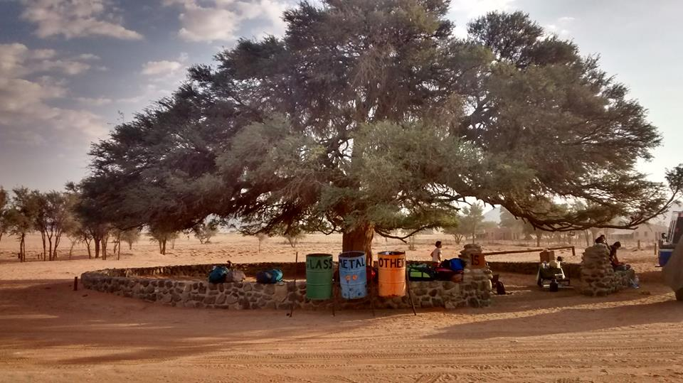Sesriem Campsite, one of the nicer sites you'll find in Namibia