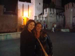 My Mantovan CouchSurfing host -- she made Italy worth the budget travel struggle