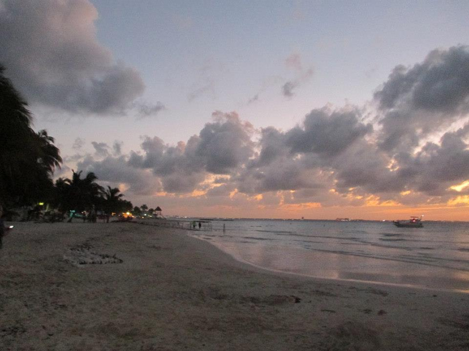 Sunset on Isla Mujeres