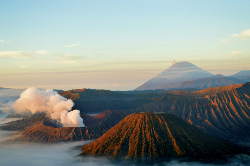 Sunrise over Mount Bromo