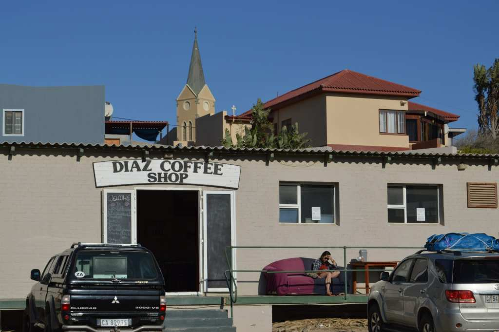 The best little cafe in Namibia -- Diaz Coffee Shop