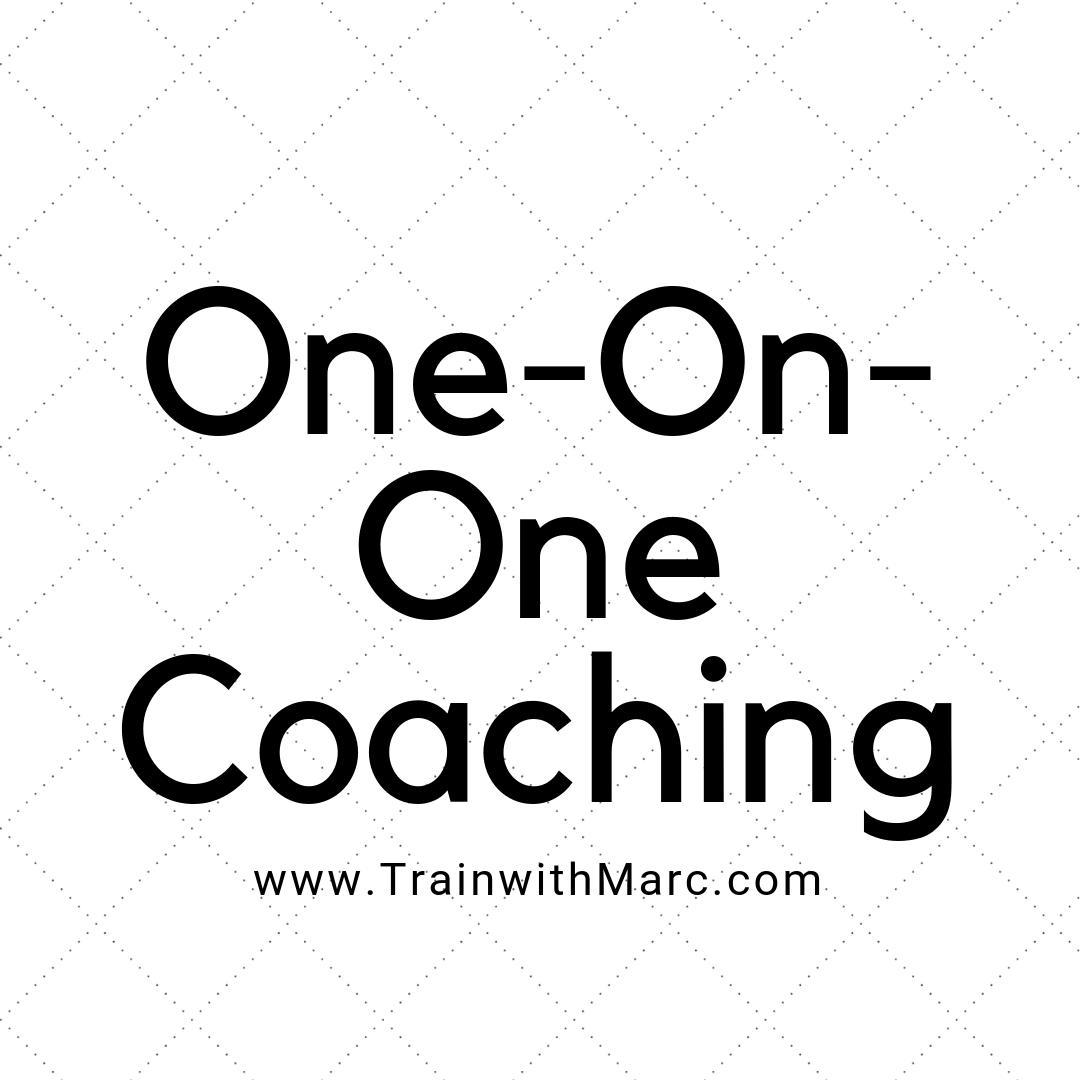 Personal Coaching Trainwithmarc