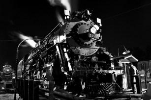 Pere Marquette 1225 at the Steam Railroading Institue