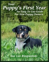 Your Puppy's First Year Book cover photo