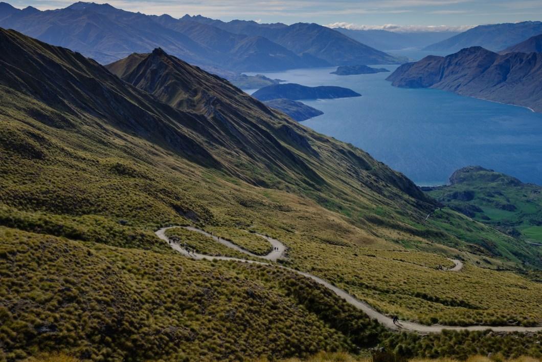 randonnée nouvelle zélande Roy's peak