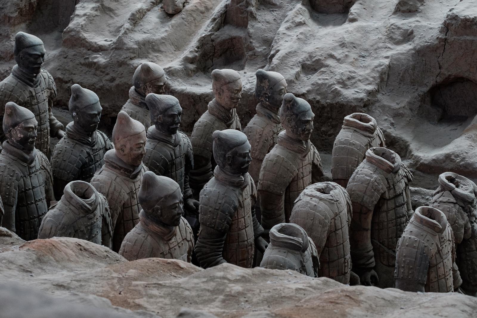 xian soldats armée terracota warrior