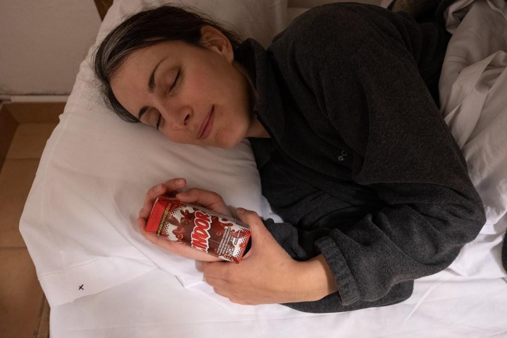 cindy dort avec cindor