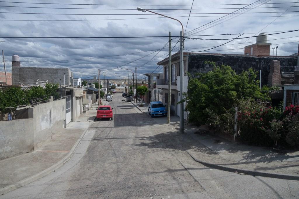 rue quartier puerto madryn patagonie argentine