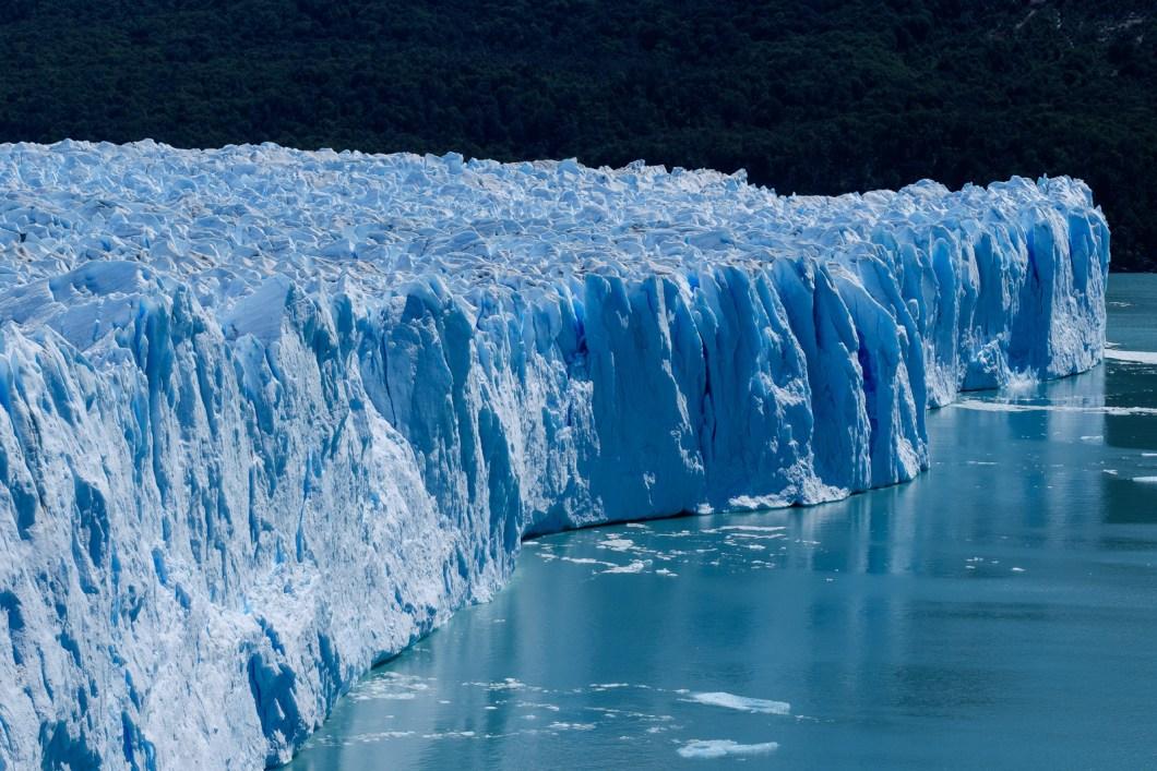 vue glacier perito moreno argentine patagonie el calafate