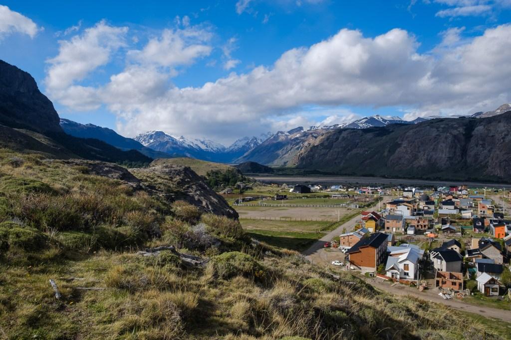 village el chaltén patagonie argentine montagne