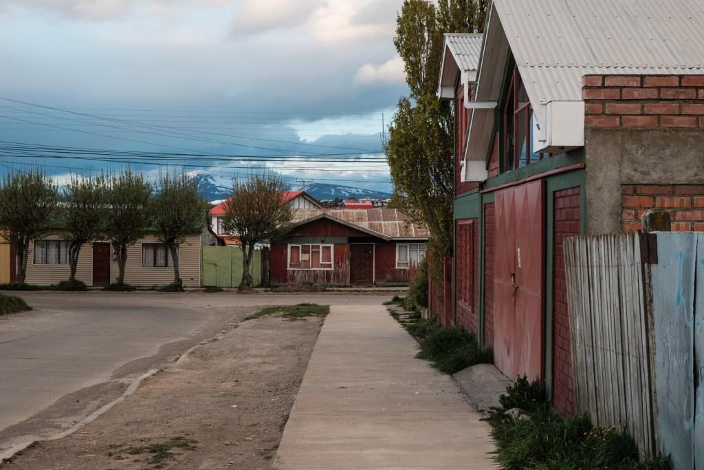 maison ville puerto natales patagonie chili