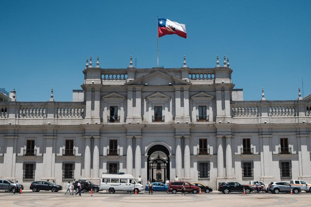 palais moneda santiago chili ville capitale