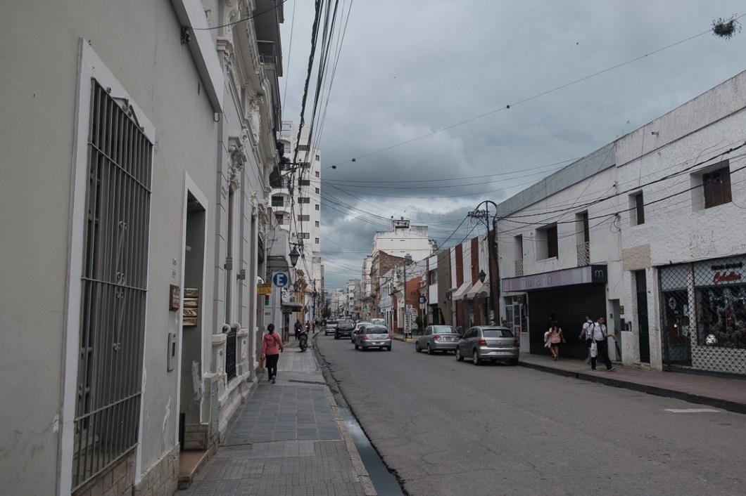 rue ville salta argentine