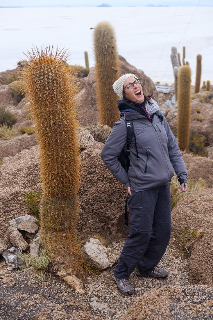 cactus ile salar d'uyuni bolivie