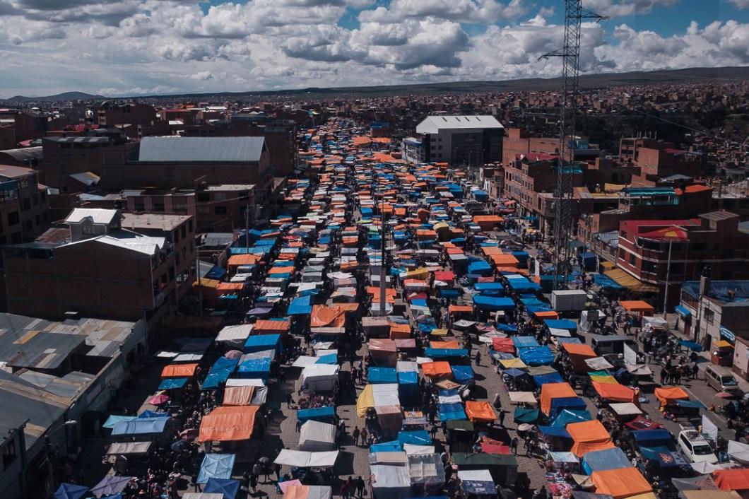 marché el alto bolivie la paz