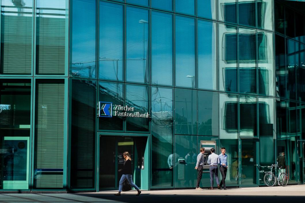 zurich centre ville suisse quartier des affaires