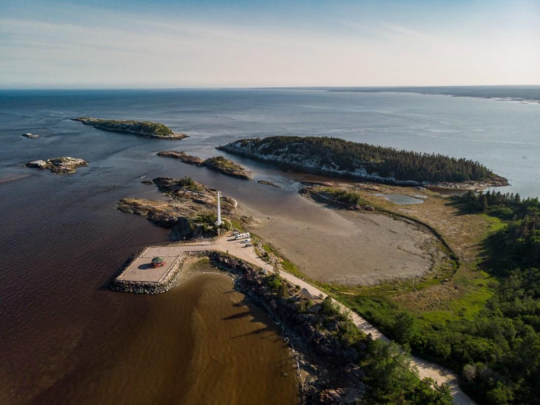 côte-nord québec canada drone ragueneau