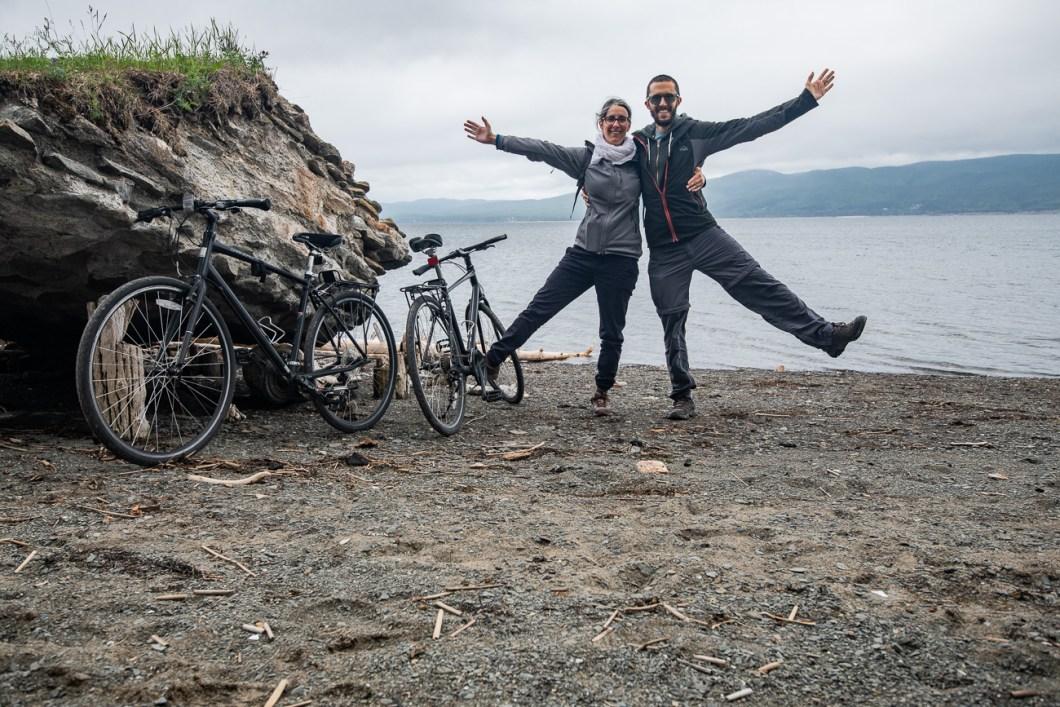 stendy vélos gaspésie canada