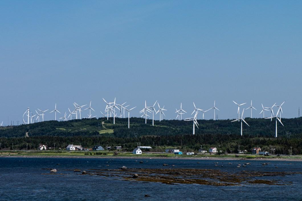 éolienne gaspésie québec