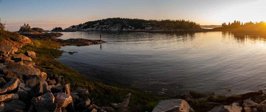 côte-nord québec canada pêche lac