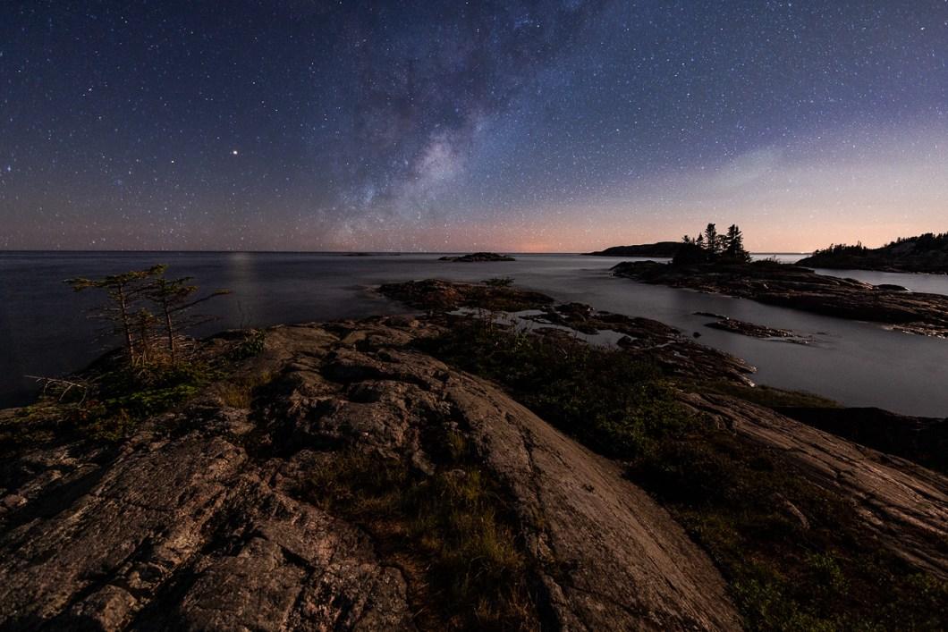 côte-nord québec canada ciel étoiles