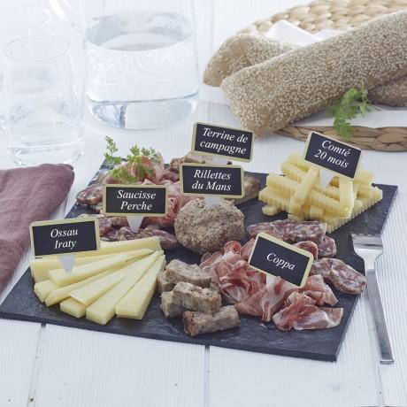 plateau apero fromage charcuterie grande balade a la campagne