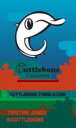 Cuttleb0ne Costumes Business Cards
