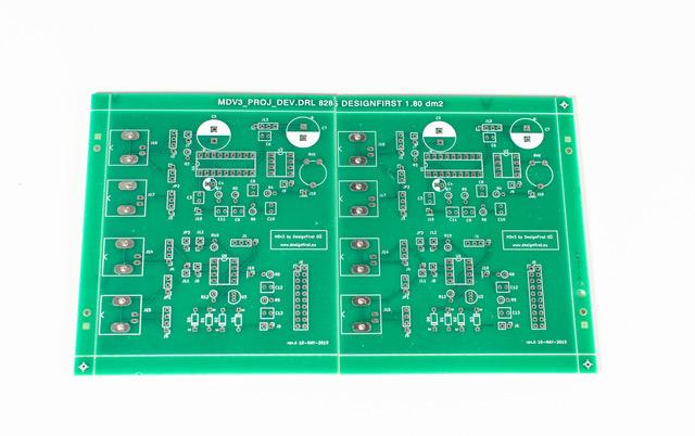 DesignFirst Open metal detector board
