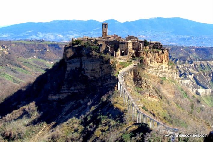 Civitá di Bagnoregio – Región del Lazio