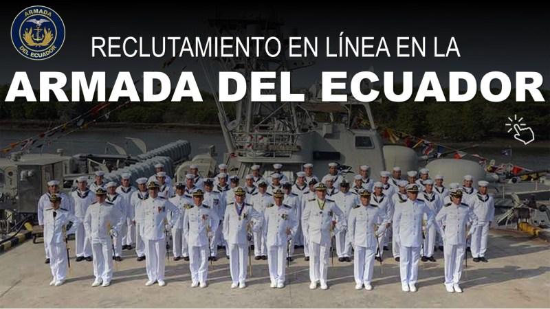 Reclutamiento en Línea en la Armada del Ecuador