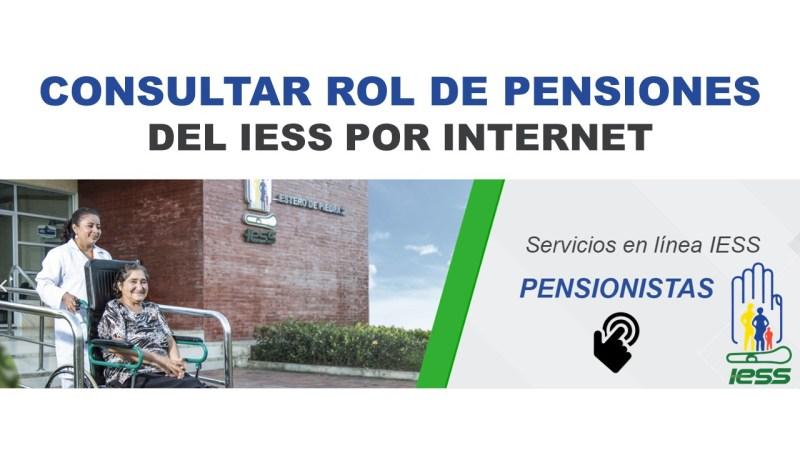 Consultar Rol de Pensiones del IESS por Internet 1