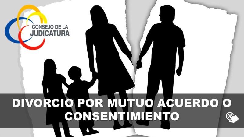 Divorcio por Mutuo Acuerdo o Consentimiento