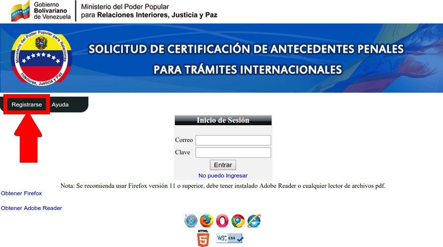 citas online para antecedentes penales