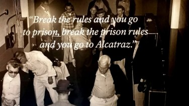 San Francisco, California, Alcatraz, slogan, title, saying, memorandum,