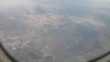 Los Angeles, Above, Flight,