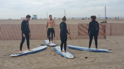 Surfer, Surfers, training, course, Santa Monica, Los Angeles, Venice beach,