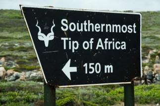 That's our destination Cape Agulhas.