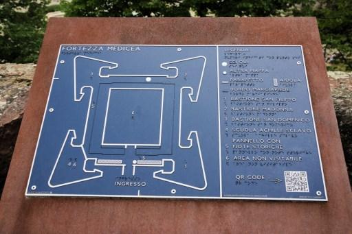 Fortezza Medicea plan