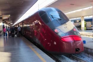 Italo off to Milan
