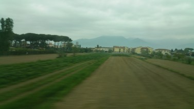 On the way to Siena