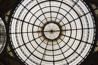 Vittorio Emanuele Glass Dome