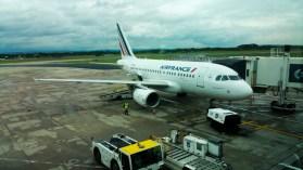 Air France off to Paris
