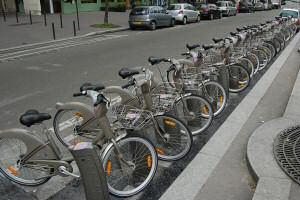 Bicycles rentals in Paris