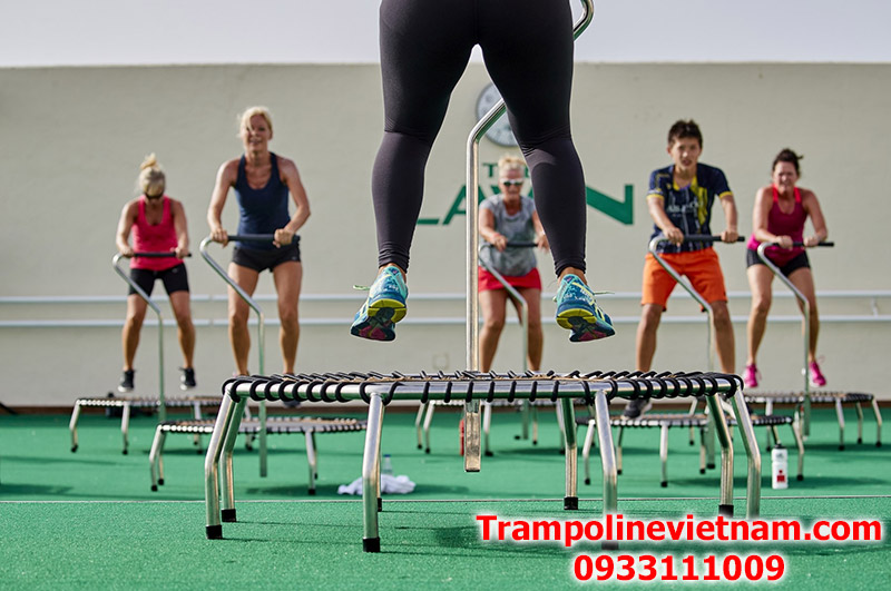 Trampoline jumping Fitness