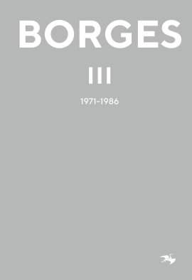 Jorge Luis Borges – Borges 3 (omslag)
