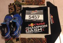 Tham gia Champion Dash 2015 là một thử thách khá bất ngờ và thú vị đối với tôi.