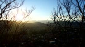 Puesta de Sol sobre Oaxaca