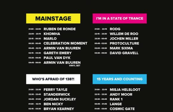 A State Of Trance Festival 2016 Sets