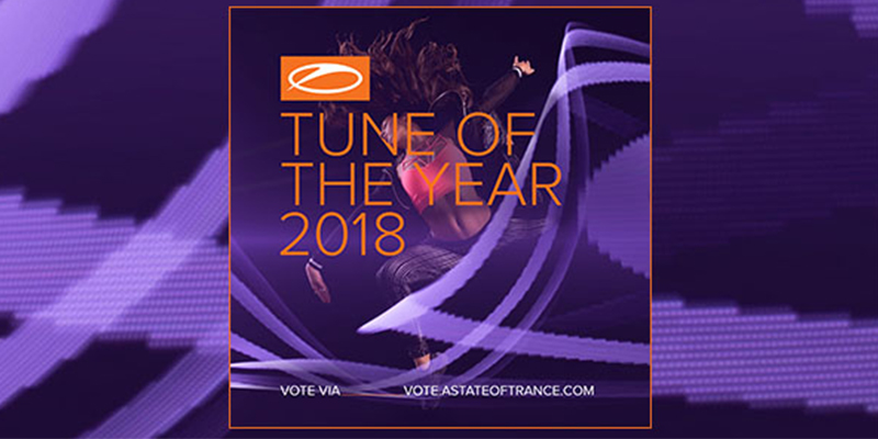 Vote for your Tune Of The Year 2018!