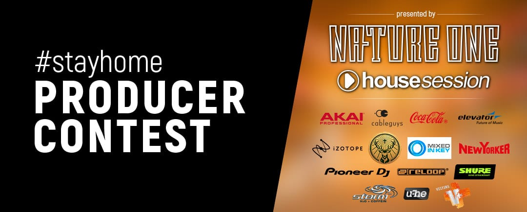 #stayhome producer contest by NATURE ONE